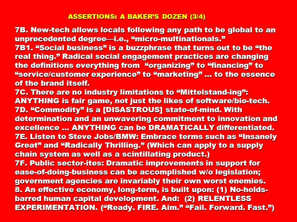 ASSERTIONS: A BAKER'S DOZEN (3/4) 7B.