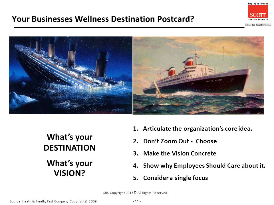 - 11 - Your Businesses Wellness Destination Postcard.