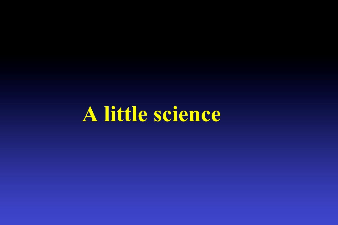 A little science