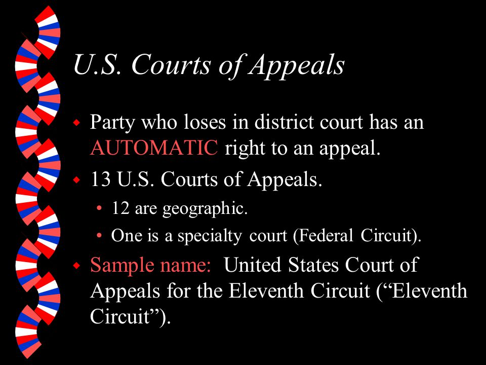 Federal Court - Levels
