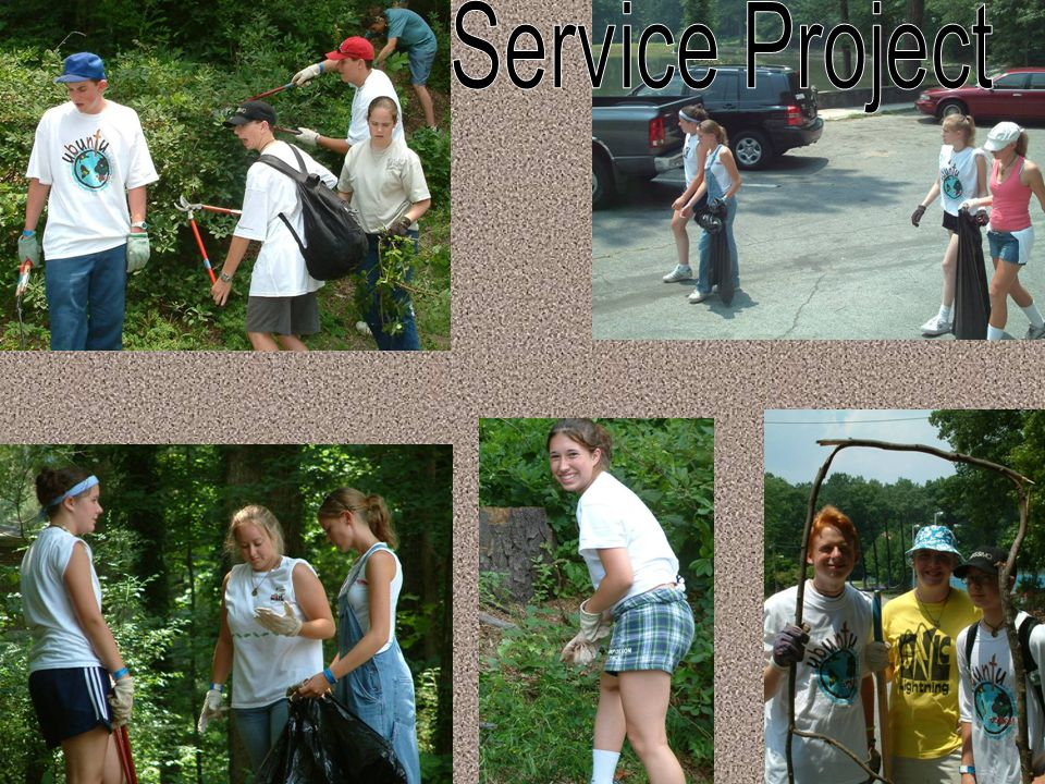 Service Project (2/2)