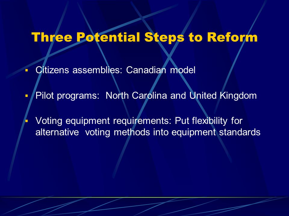 Proportional Voting & Task Force Criteria, Page 2  Positive/high quality campaigning – Yes (qualified)  Resists voter fraud/manipulation – Yes (qualified)  Balanced gender and ethnic representation  – Yes (qualified)  Balanced geographical & cultural representation – Yes