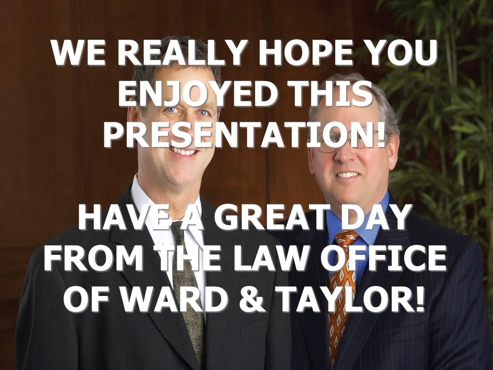 WE REALLY HOPE YOU ENJOYED THIS PRESENTATION.