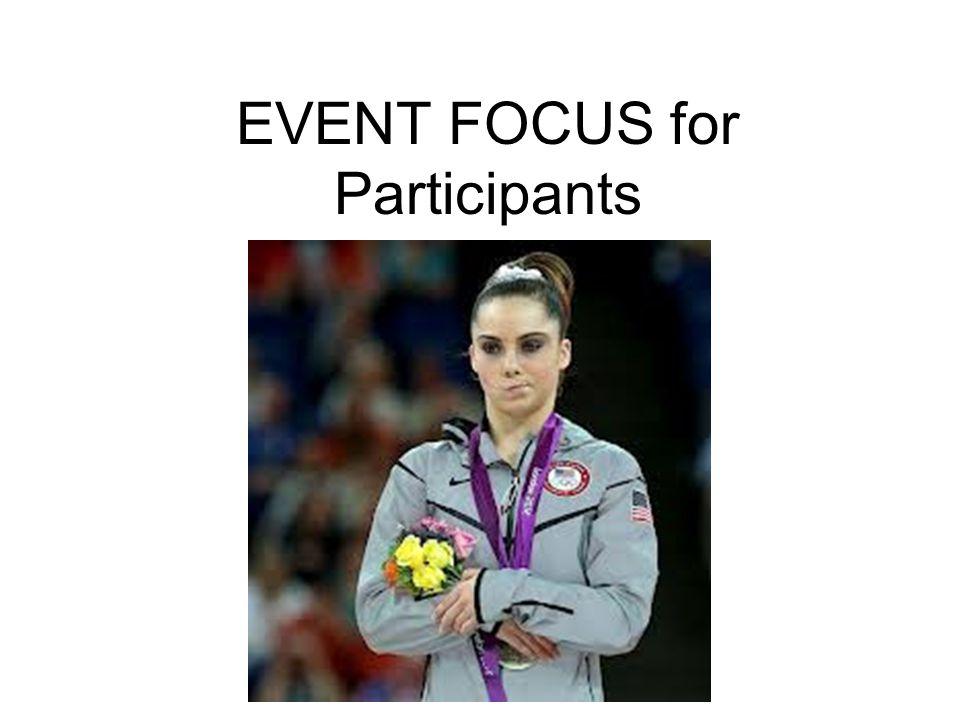 EVENT FOCUS for Participants
