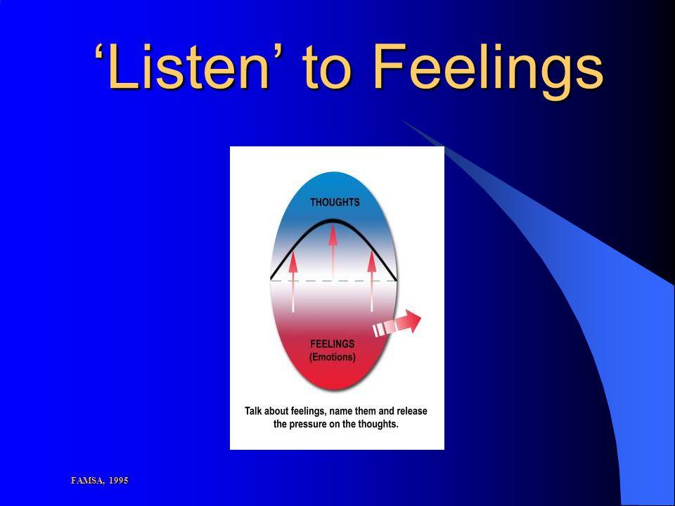 'Listen' to Feelings FAMSA, 1995
