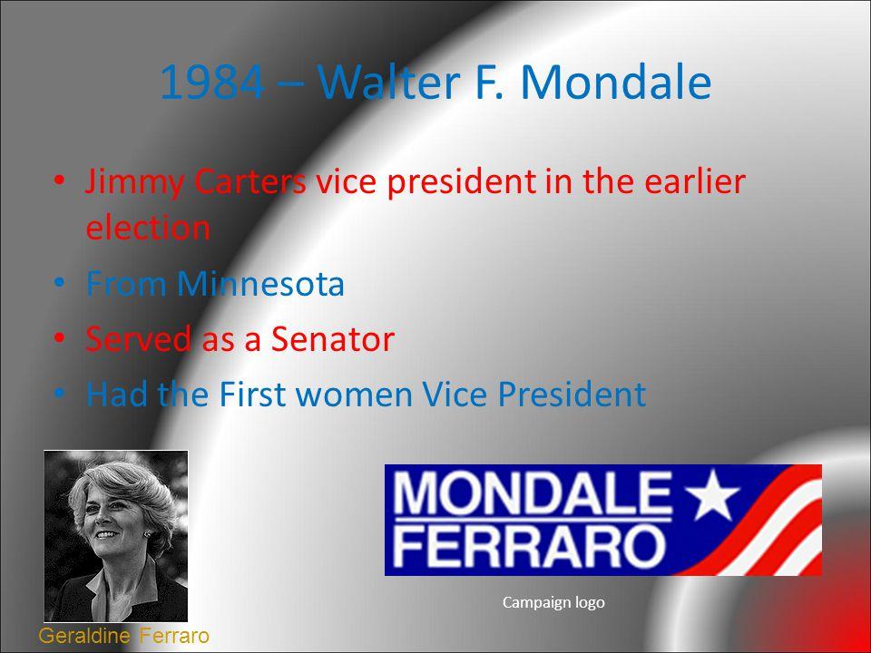 1984 – Walter F.