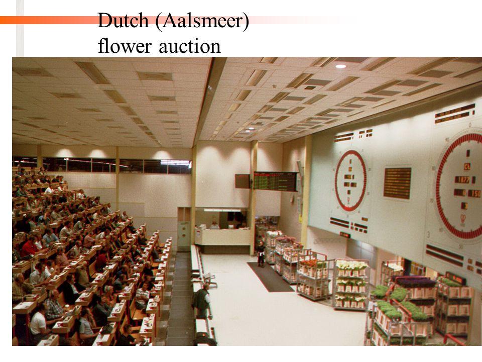 31 Dutch (Aalsmeer) flower auction
