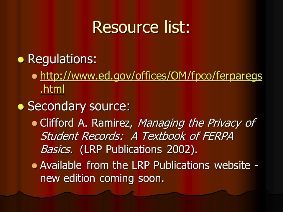 What we don't do (yet) We don't: We don't: Ask for FERPA waivers from students.