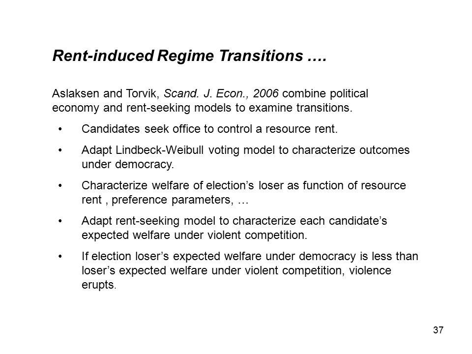 37 Rent-induced Regime Transitions …. Aslaksen and Torvik, Scand.