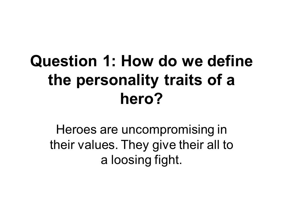 Question 2: How do the setting, conflicts, and antagonists influence the development of literary heroes.
