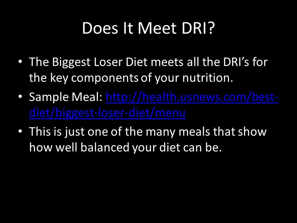 Does It Meet DRI.