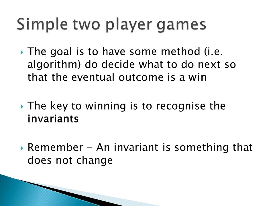  The terminology we use to describe the winning strategy is to maintain invariant property that the number of matches remaining is a multiple of 3