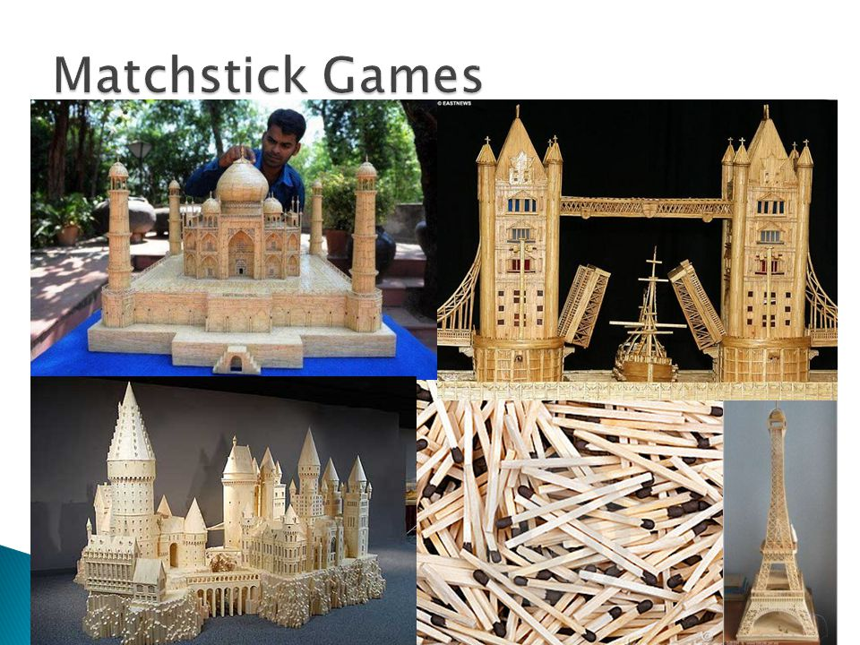  Played with one or more piles of matches  Two players make alternate moves  A player can remove one or more matches from one of the piles, according to a given rule  The game ends when there are no more matches to be removed  The player who cannot take any matches is the loser, i.e.