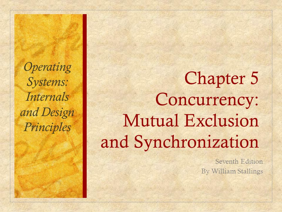 Designing correct routines for controlling concurrent activities proved to be one of the most difficult aspects of systems programming.