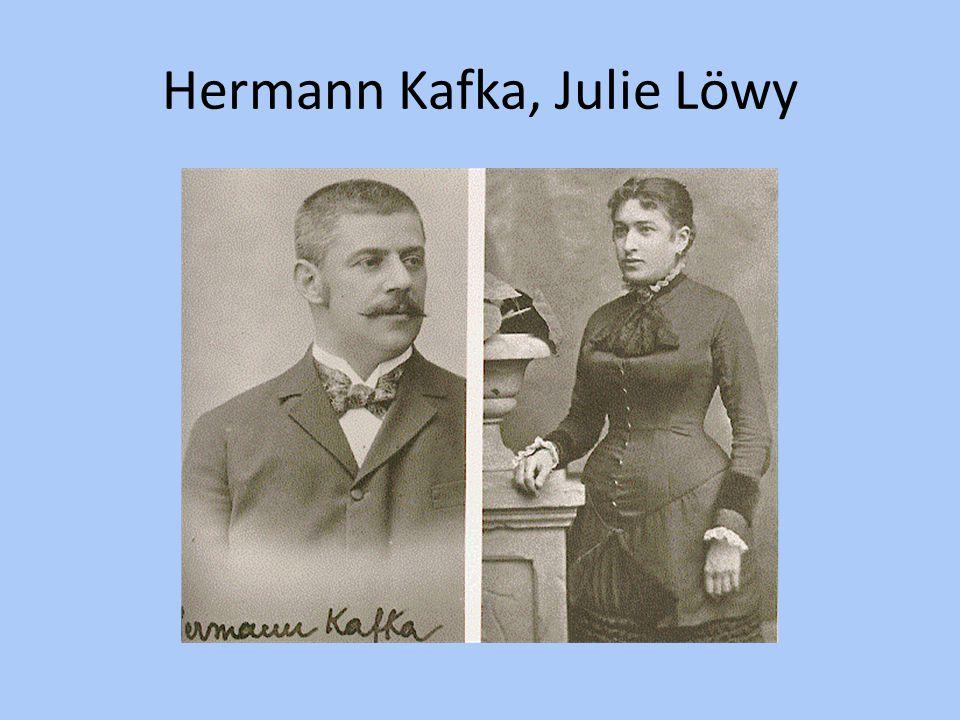 Hermann Kafka, Julie Löwy