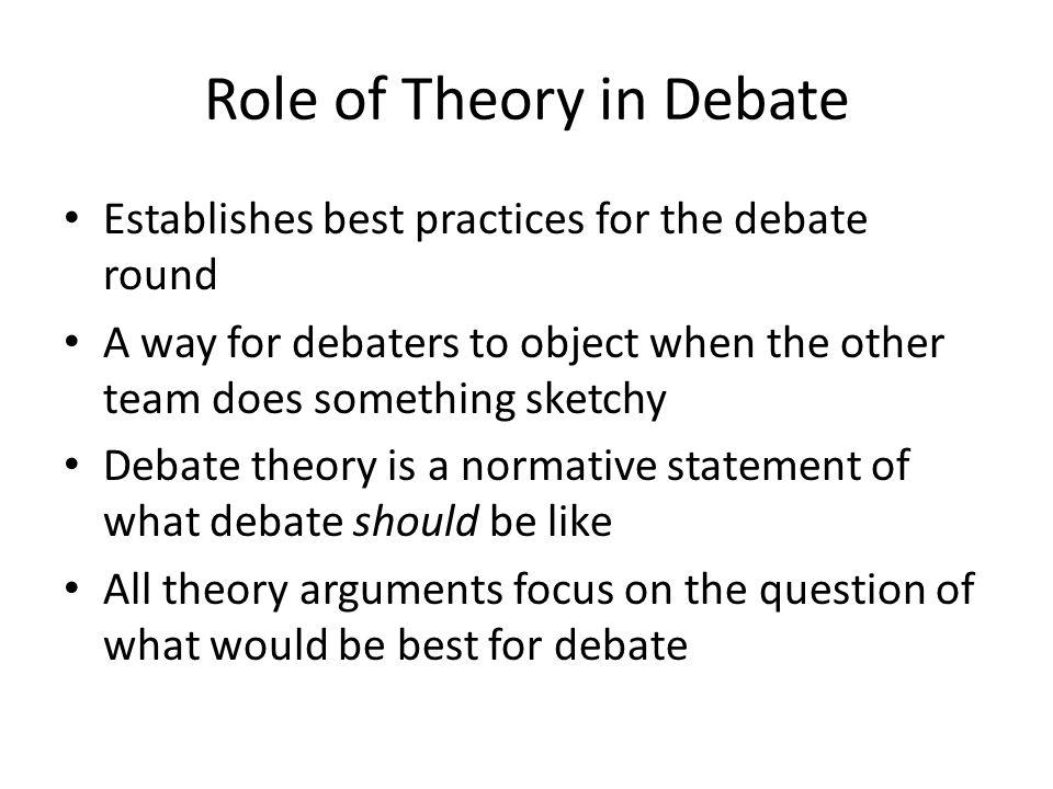 Common Theory Examples Vs.