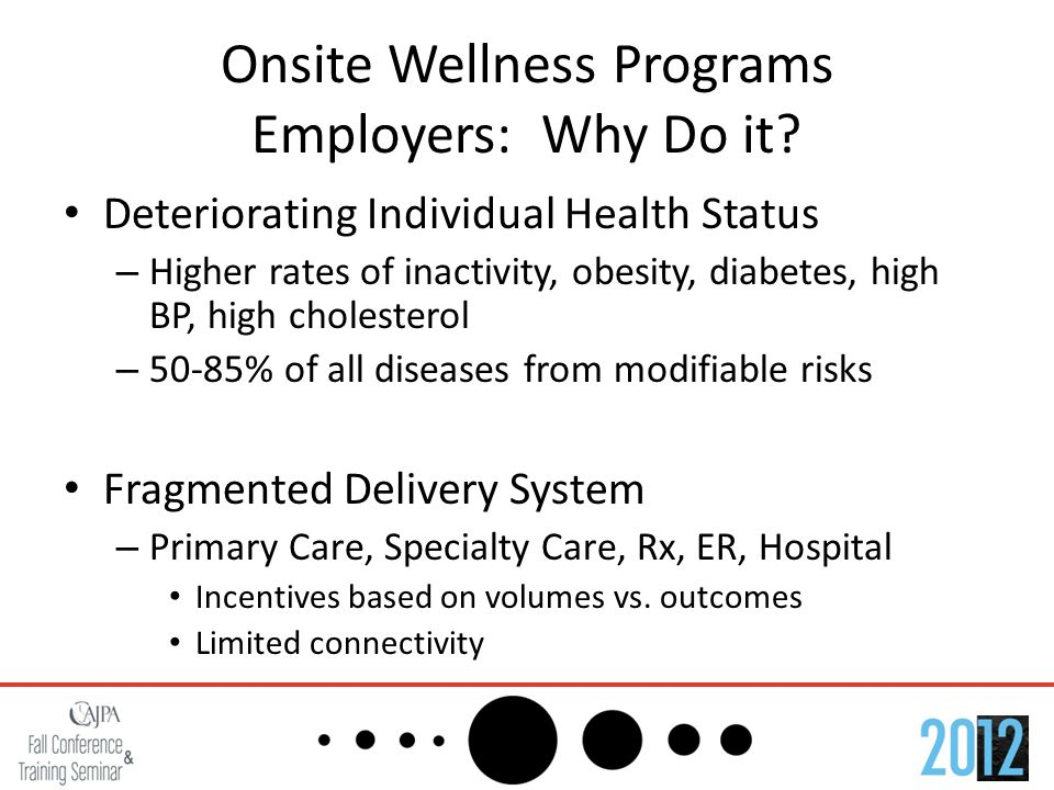 Onsite Wellness Programs Employees: Why Do it.