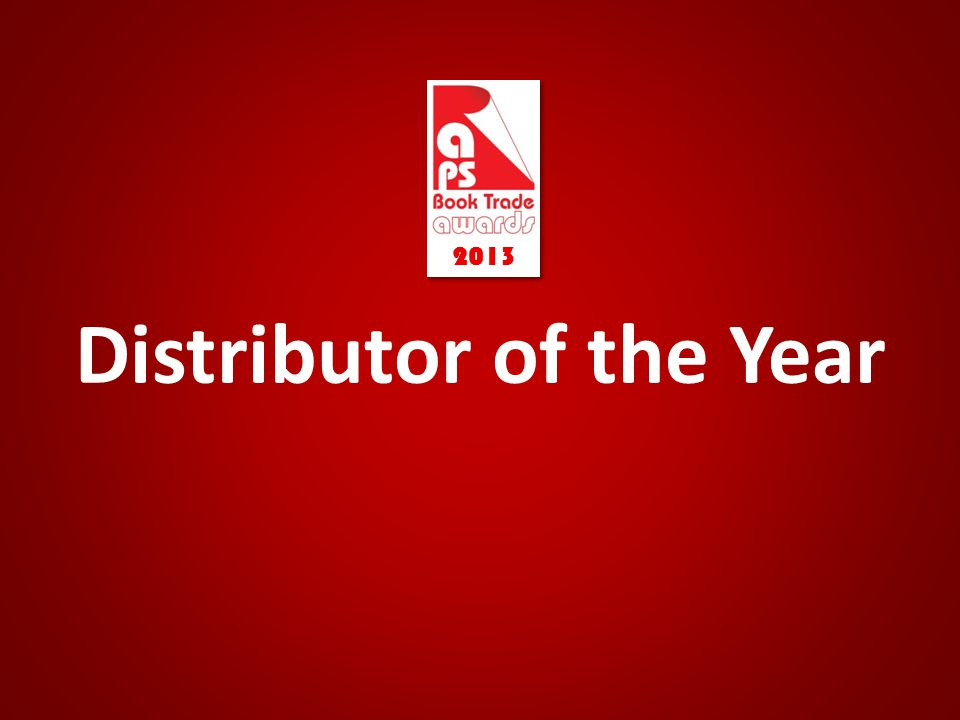 Distributor of the Year 2013