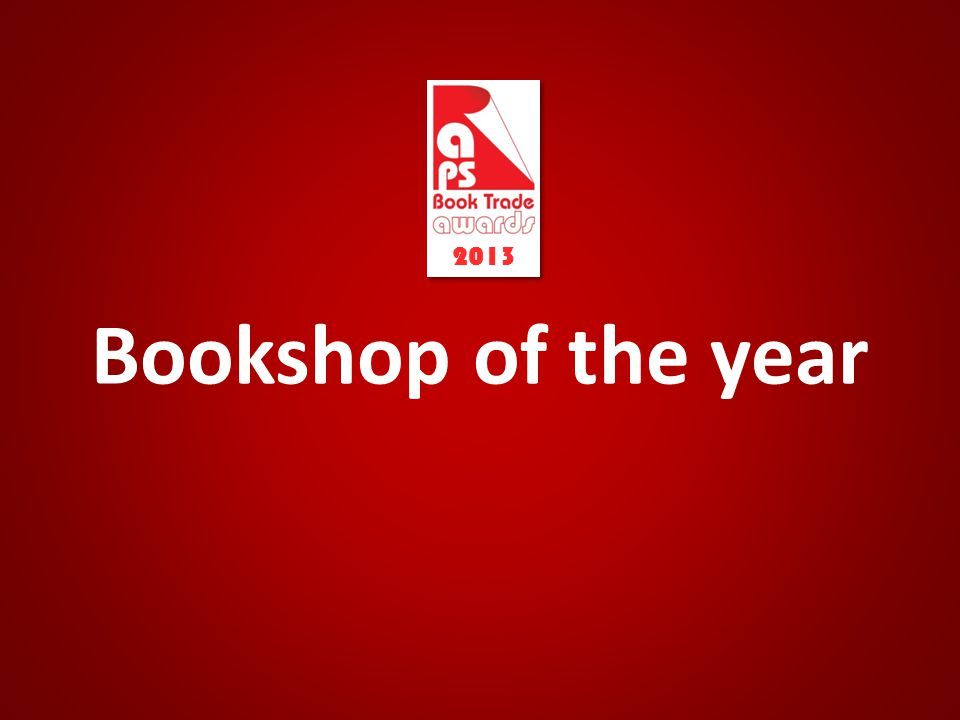 Bookshop of the year 2013
