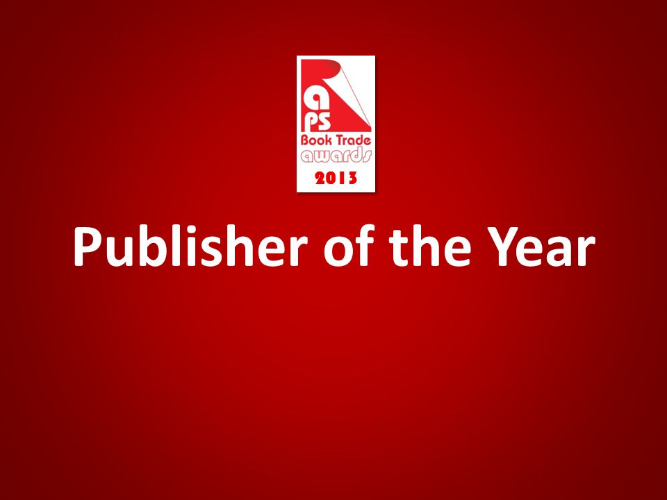 Publisher of the Year 2013