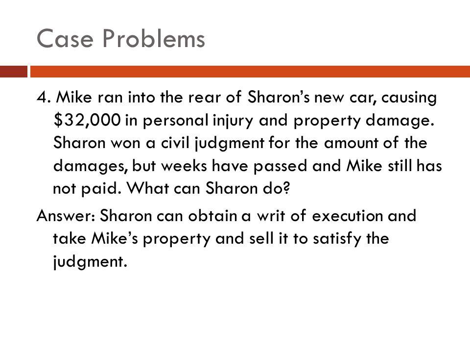 Case Problems 4.