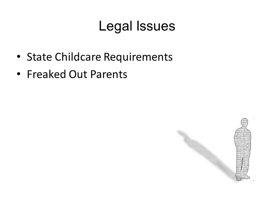 Legal Issues State Childcare Requirements Freaked Out Parents