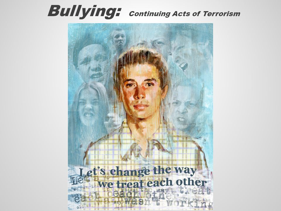 60% of middle school students say that they have been bullied while 16% of staff believe that students are bullied.