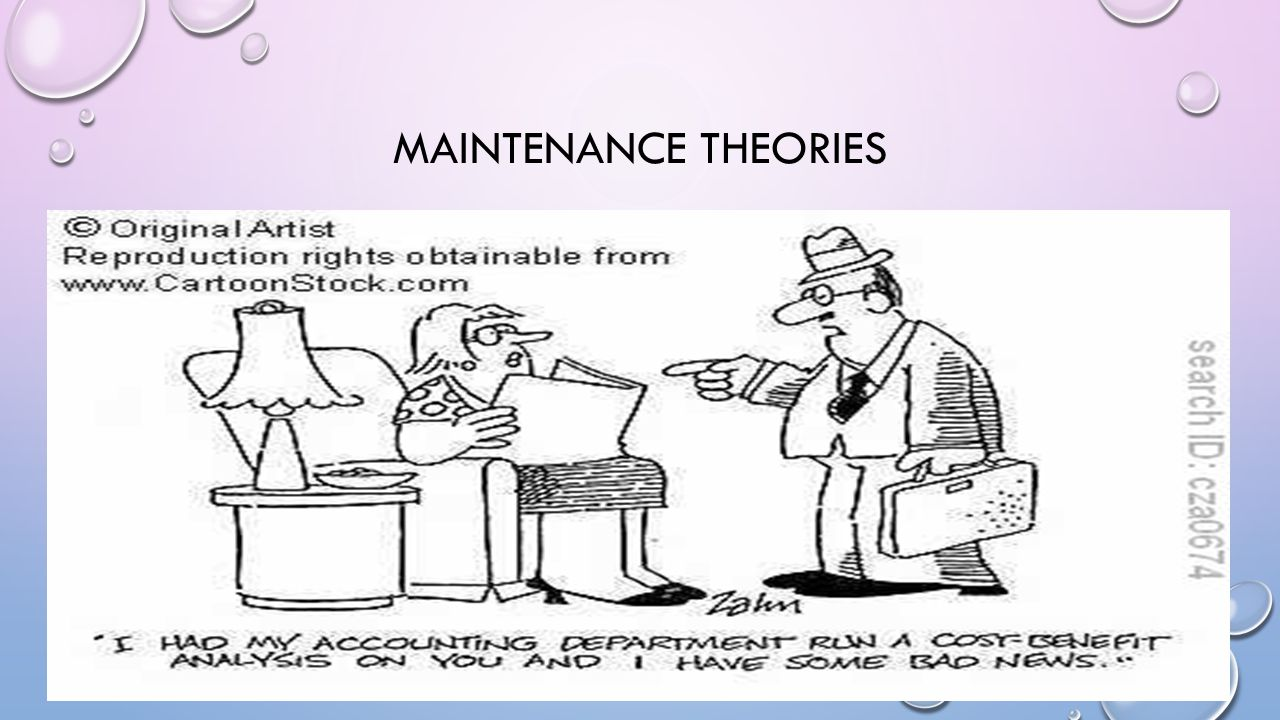 MAINTENANCE THE MATCHING HYPOTHESIS AND REWARD/NEED SATISFACTION THEORIES EXPLAIN WHY TWO PEOPLE WOULD CHOOSE EACH OTHER AS PARTNERS, OTHER THEORIES GO BEYOND THIS AND EXPLAIN HOW RELATIONSHIPS ARE MAINTAINED.