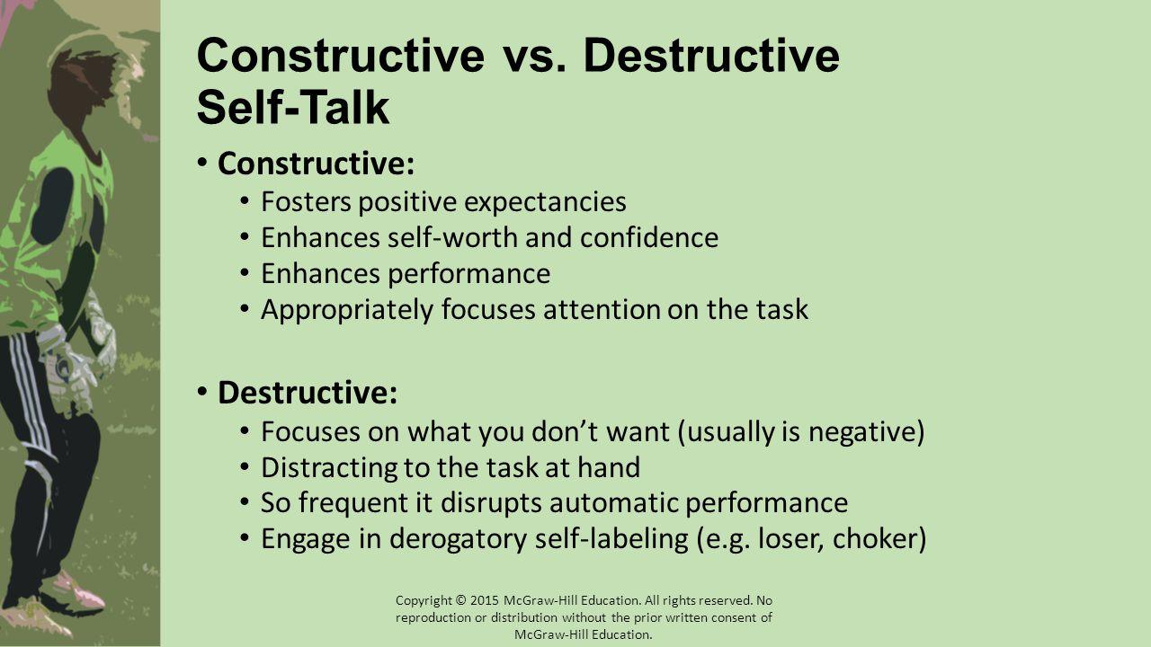 Constructive vs.