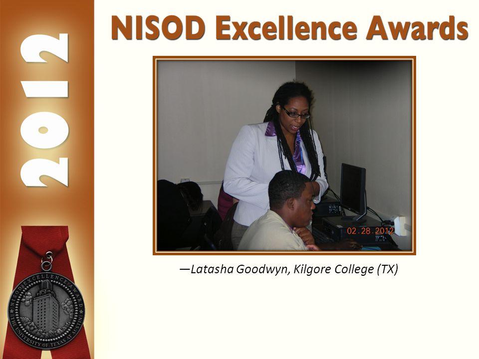 —Latasha Goodwyn, Kilgore College (TX)