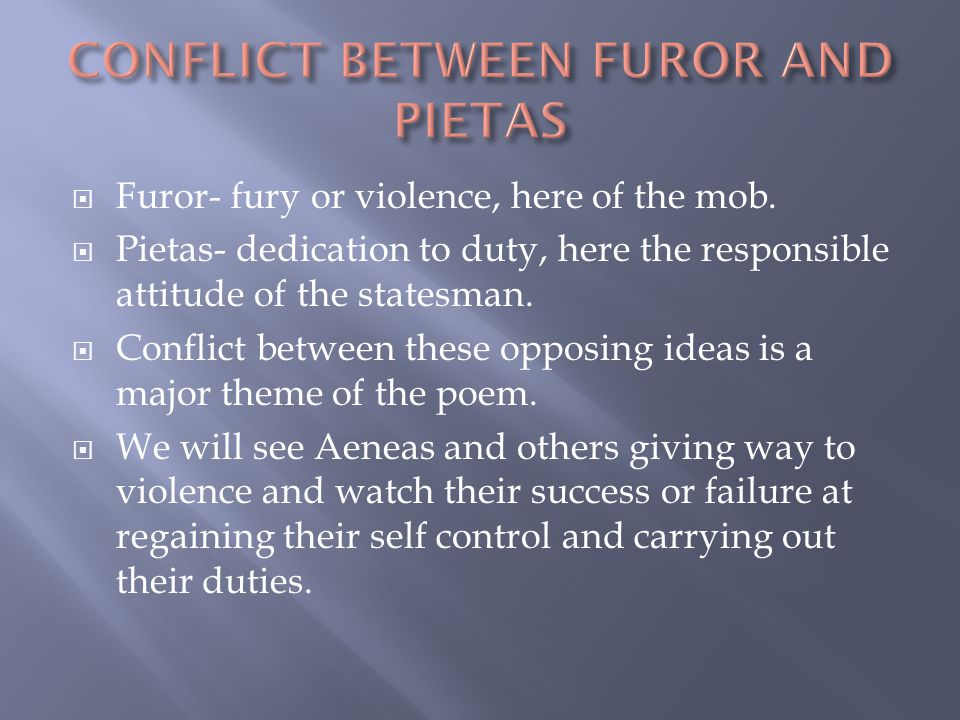  Furor- fury or violence, here of the mob.