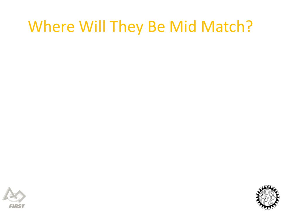 Where Will They Be Mid Match