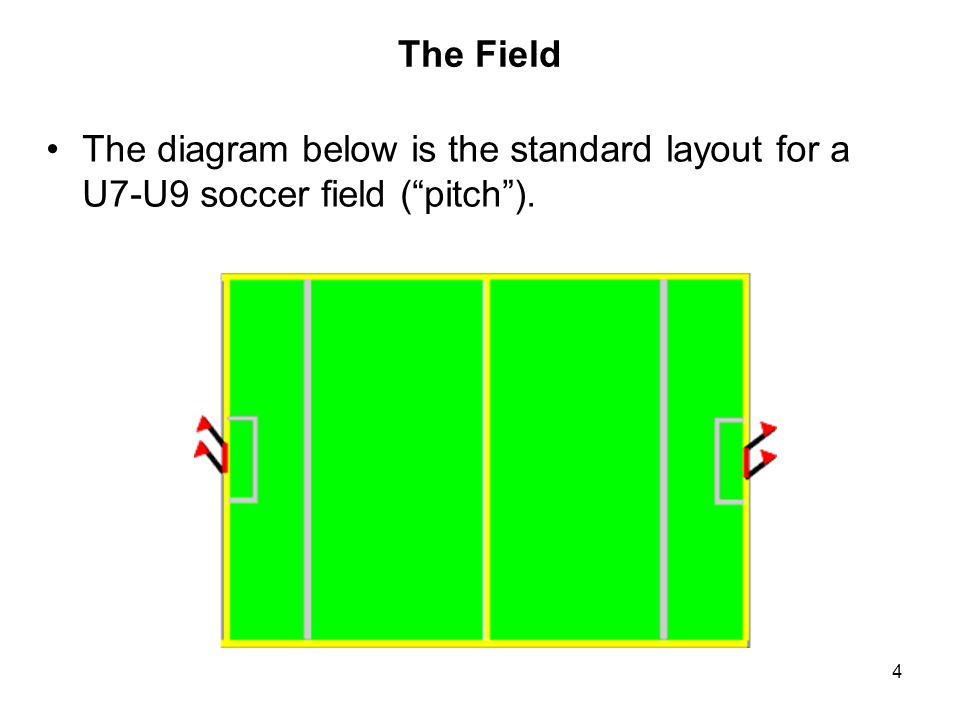 45 The Goalkeeper Each team in U8, U9 play MUST have one person designated as the goalkeeper.