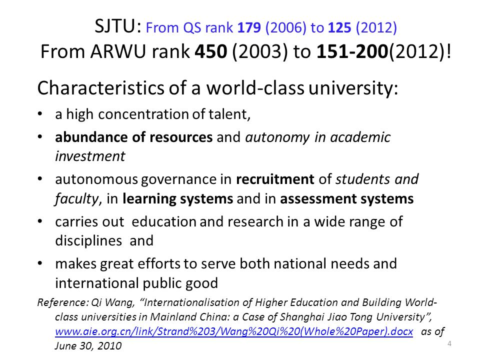An American Perspective Reference: 'Why is Harvard #1?' by Shailendra Raj Mehta, an IIMA White paper dt 5 th April 2012 Universities are more competitive and autonomous if they: to qu ote (Aghion, Dewatripont et al.
