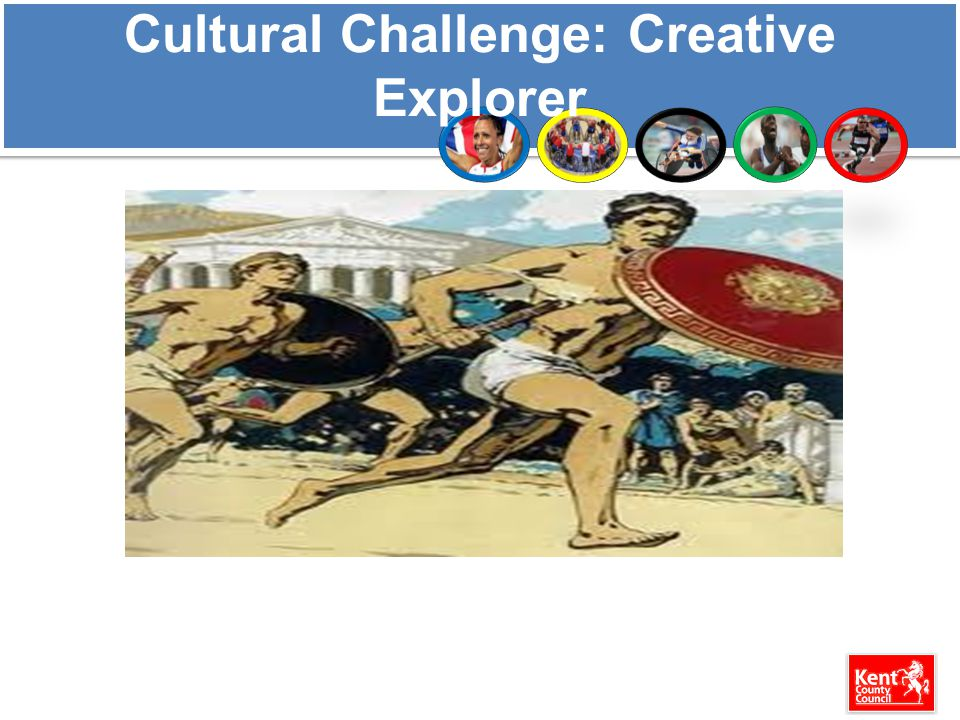 Cultural Challenge: Creative Explorer