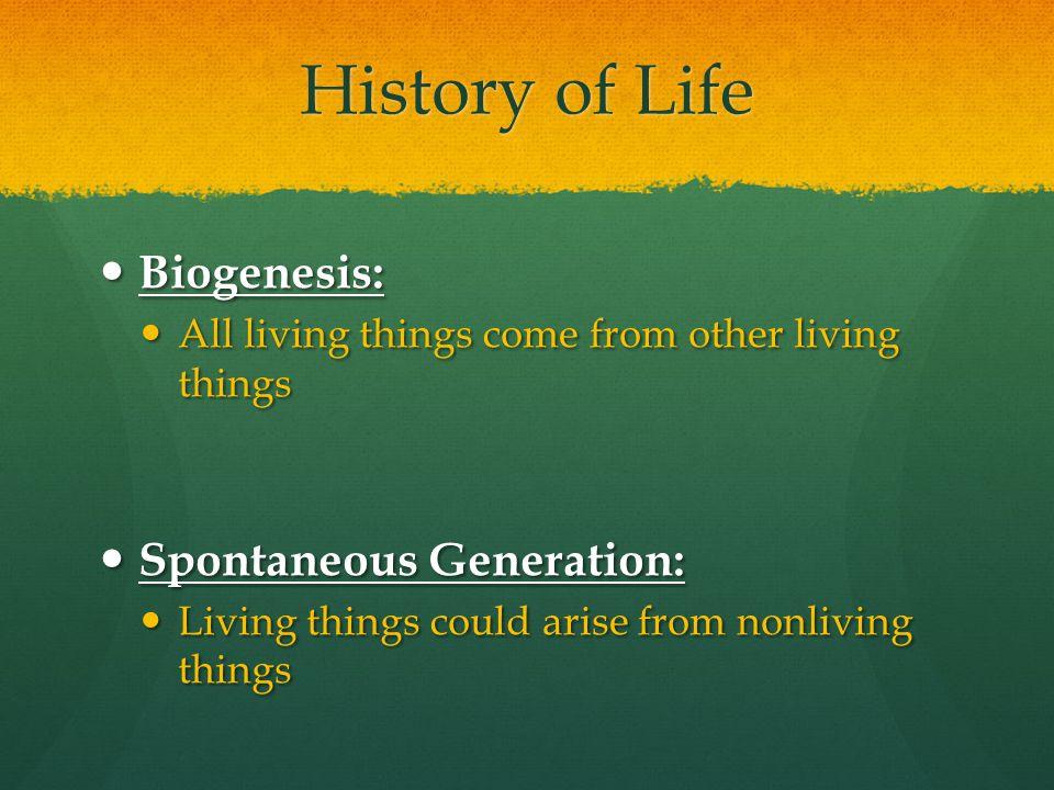 Lamarck's Hypothesis 1.