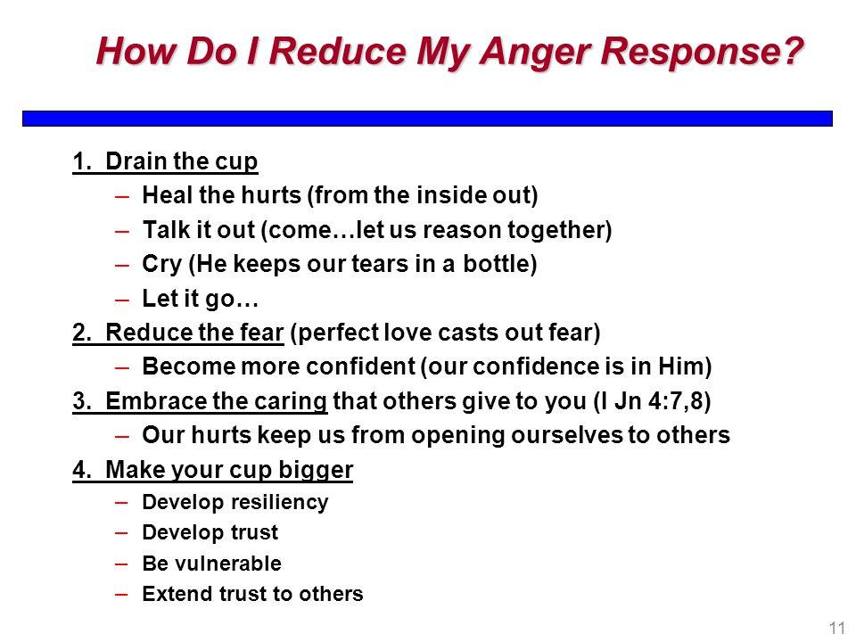 How Do I Reduce My Anger Response. 1.
