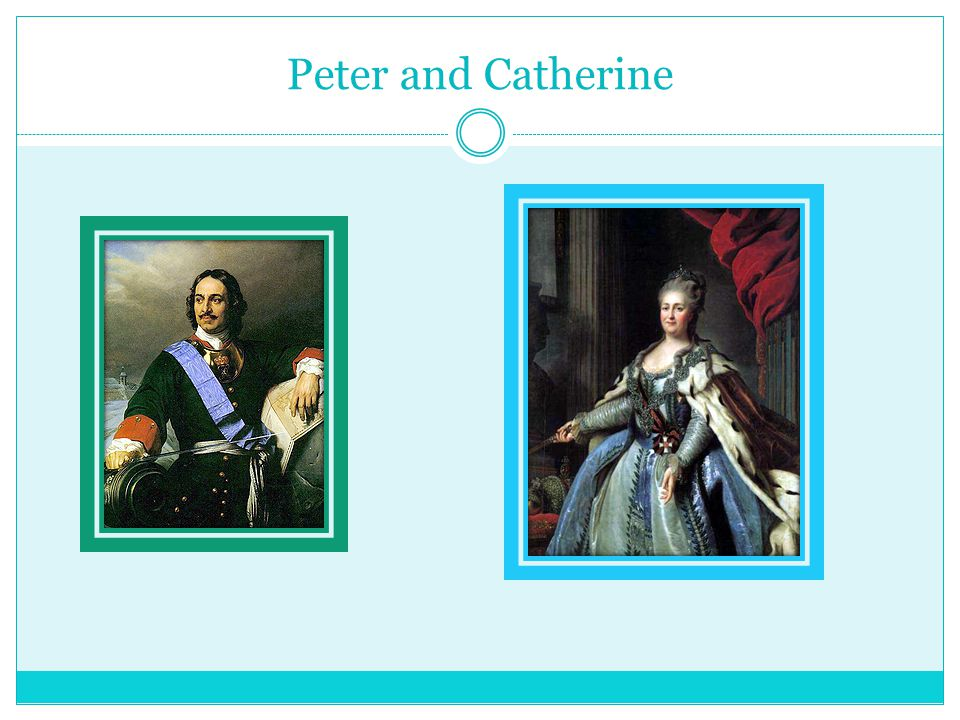 Peter and Catherine