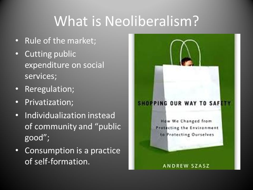 What is Neoliberalism.