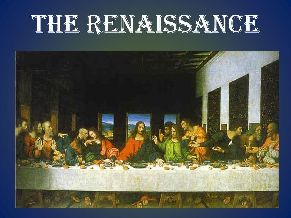 5.2 INTELLECTUAL & ARTISTIC RENAISSANCE 5.