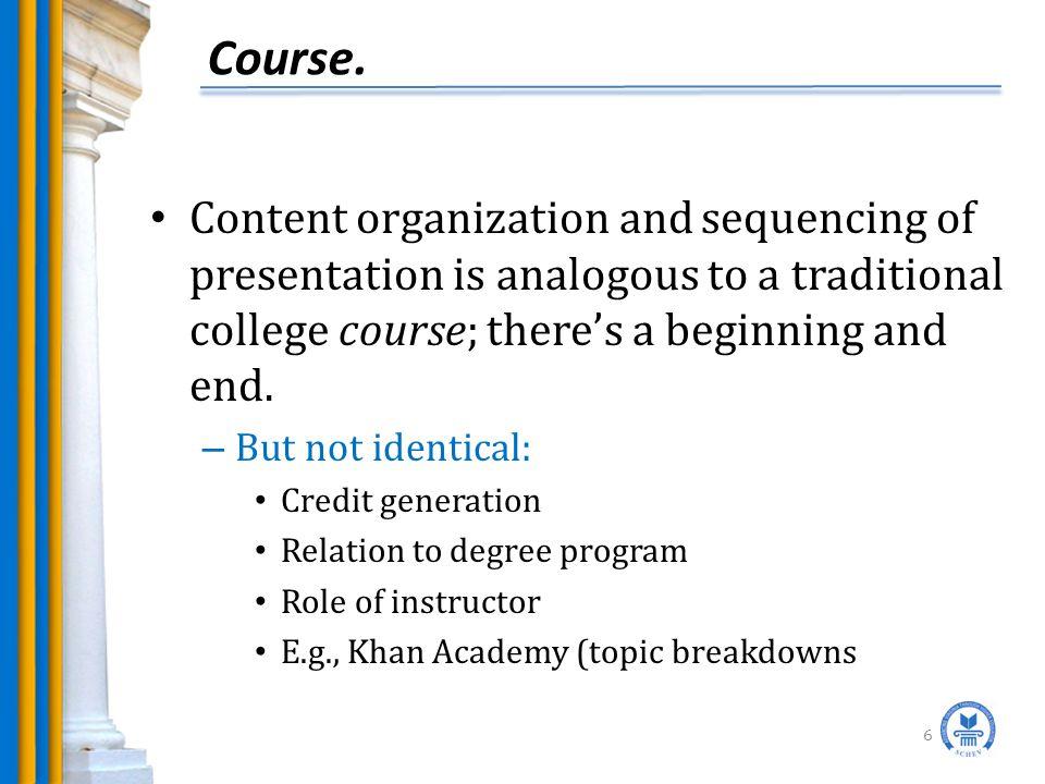 Course.