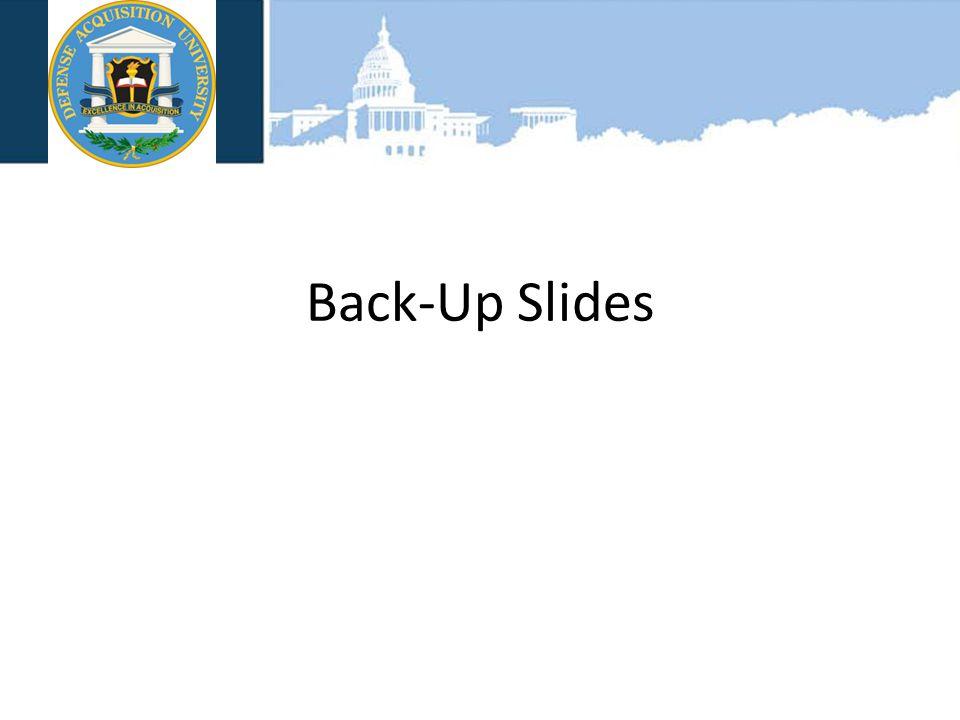 VAN SCOYOC ASSOCIATES Back-Up Slides