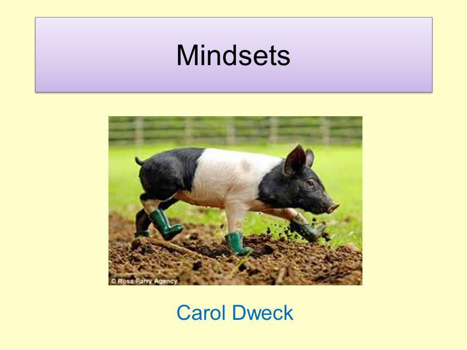Mindsets Carol Dweck