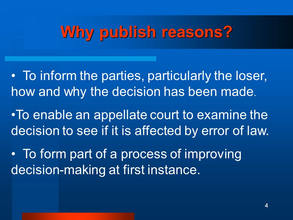 4 Why publish reasons.
