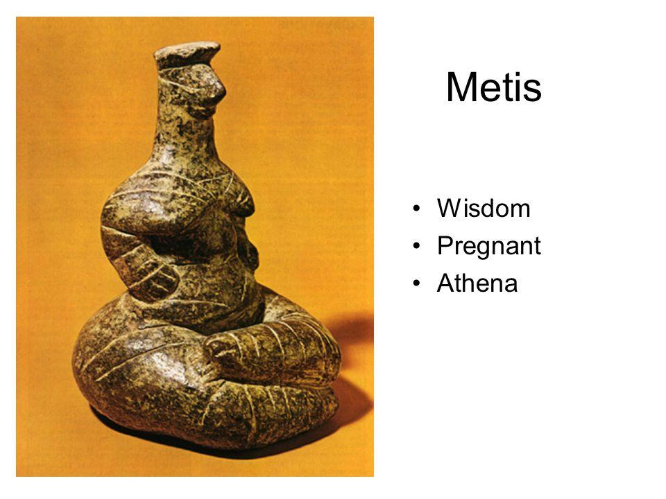 Metis Wisdom Pregnant Athena