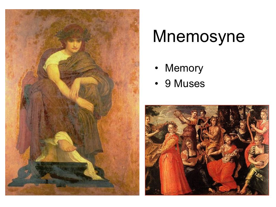 Mnemosyne Memory 9 Muses