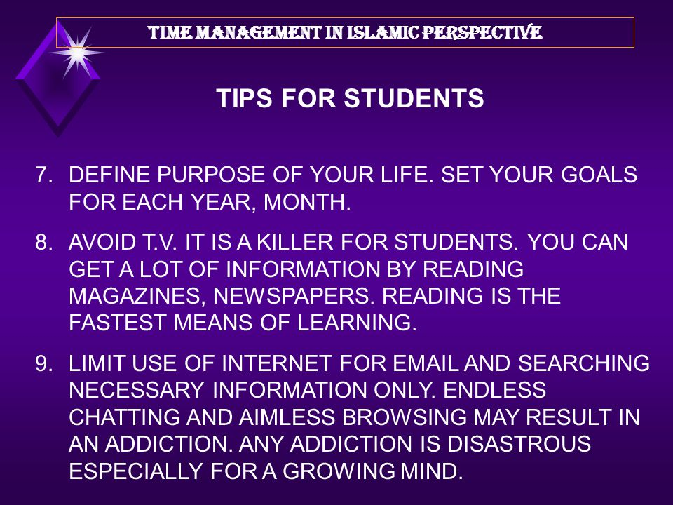 4.DO NOT SLEEP LATE NIGHT. THIS WILL DECREASE YOUR LISTENING COMPREHENSION SIGNIFICNTLY IN YOUR CLASS. 5.MAINTAIN ''TO-DO-LIST'' SO THAT YOU COULD TRA