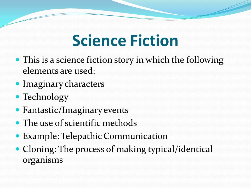 While Reading While reading the story, please bear in mind that it is a science fiction one Try to jot down the elements of science fiction which you can find Please answer the following questions: What is the main conflict in the story.
