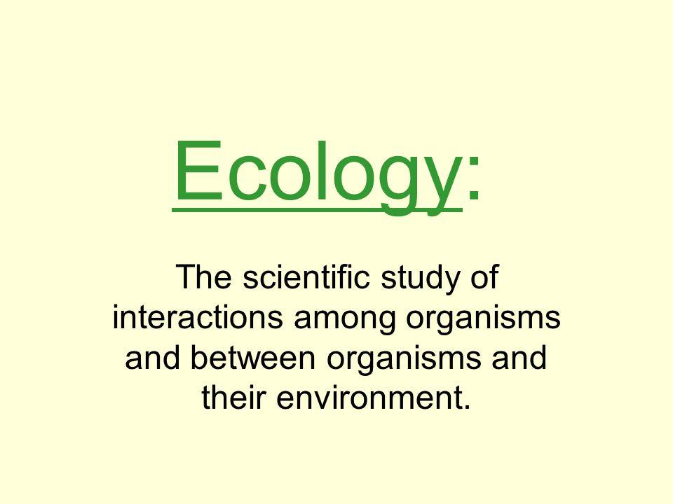 Biotic Factors Living organisms Dead organisms Organisms' waste