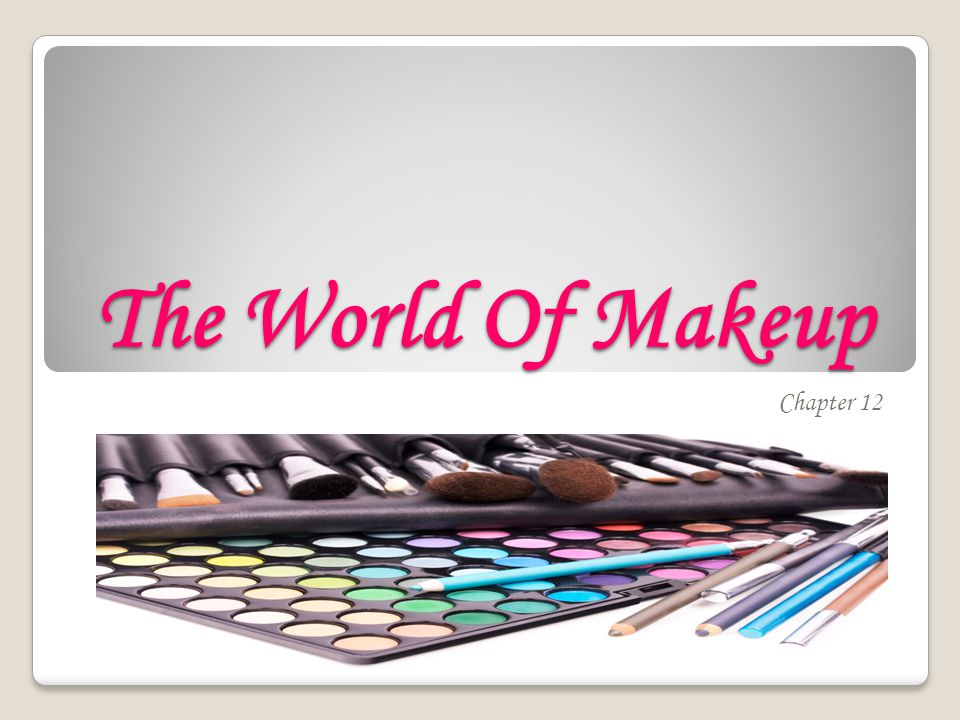 The World Of Makeup Chapter 12